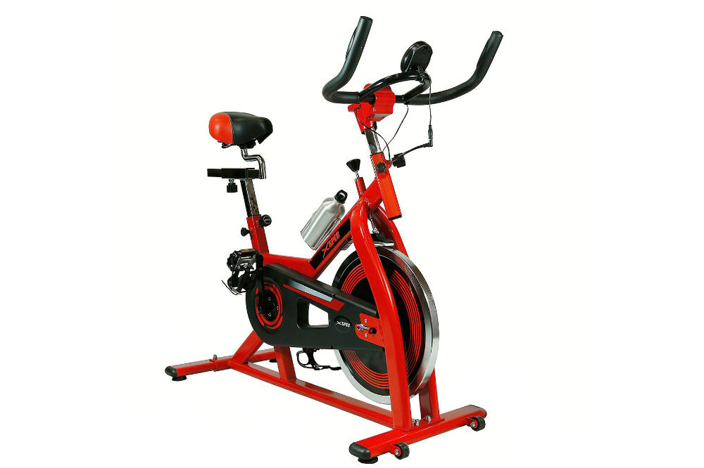 Xspec Pro Stationary Upright Exercise Bike Indoor Cycling Bicycle Review