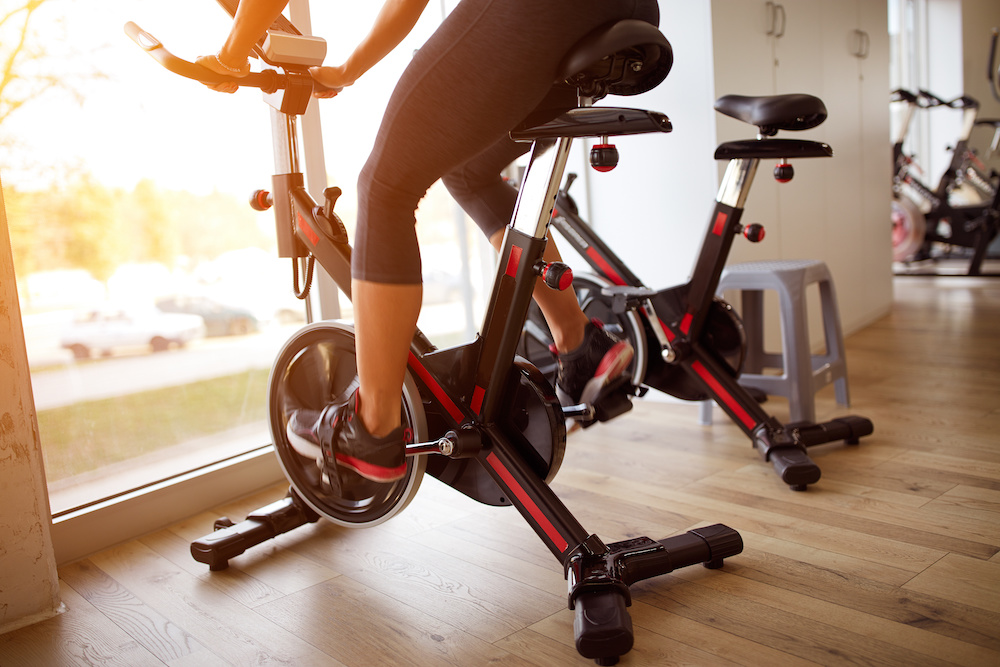 what is a good speed on a stationary bike